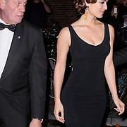 NLD/Amsterdam/20121028 - Inloop premiere nieuwe James Bond film Skyfall ,Berenice Marlohe verlaat via de achterzijde Tushinski