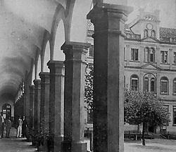Reprodução de foto do Museu do Imigrante, em São Leopoldo mostra o prédio construído pelo arquiteto Johan Grünewald (mestre João) que também projetou a obra da igreja católica. FOTO: Lucas Uebel/Preview.com