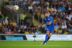 Marcin Wasilewski of Leicester City passes - Mandatory byline: Jason Brown/JMP - 19/07/2016 - FOOTBALL - Oxford, Kassam Stadium - Oxford United v Leicester City - Pre Season Friendly