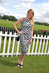 MEREDITH OSTROM at the Cartier Queen's Cup Polo Final, Guards Polo Club, Windsor Great Park, Berkshire, on 17th June 2012.