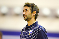 Dorian Rougeyron - 20.12.2014 - Paris Volley / Sete - 12eme journee de Ligue A<br /> Photo : Andre Ferreira / Icon Sport