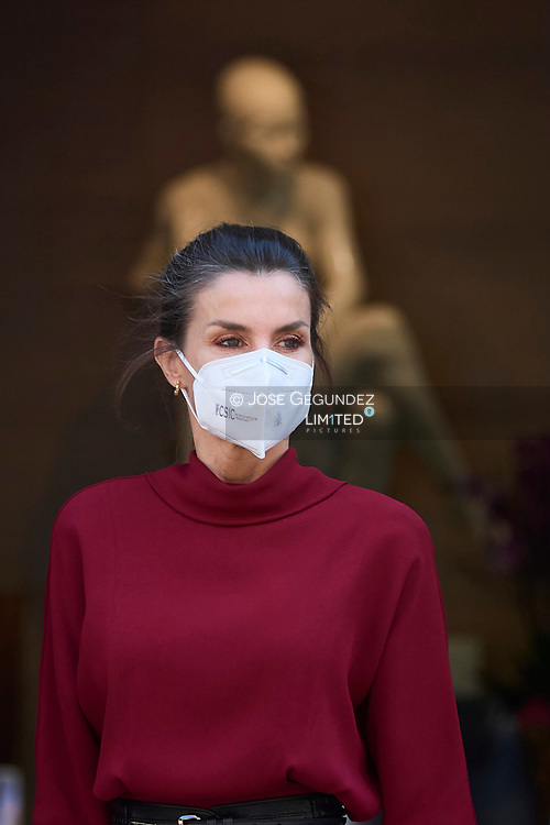 Queen Letizia of Spain visit Town hall during 2 day State visit to Principality of Andorra at Comu de Andorra on March 25, 2021 in Andorra la Vella, Principality of Andorra  <br /> The two day trip marks the first visit to Andorra since King Felipe's enthronement and is also the first foreign trip since the begin of the Coronavirus pandemic.