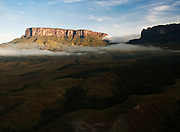 The magnificent Mount Roraima, towers above the forest landscape of the Gran Sabana in Venezuela