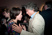 JACKY KLEIN; HOSSEIN AMIRSADEGHI;  SANCTUARY: BRITAIN'S ARTISTS AND THEIR STUDIOS -Book launch, Christie's King Street, St James 13 March 2012.
