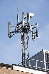 Mobile telephone mast,