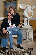 Moscow, Russia, 05/03/2006.&#xA;Italian entrepeneur David Gisi with his girlfiend Elena in his luxury Moscow apartment.<br />