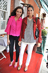 Left to right, CAMILLA AL FAYED and ASTRID MUNOZ at a lunch to celebrate the the Lulu & Co Autumn/Winter 2011 collection held at Harry's Bar, 26 South Audley Street, London W1 on 21st June 2011.