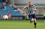 Aiden O'Brien of Millwall in action. EFL Skybet football league one match, Millwall v Bradford city at The Den in London on Saturday 3rd September 2016.<br /> pic by John Patrick Fletcher, Andrew Orchard sports photography.