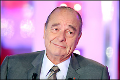 File - Former French President Jacques Chirac Archive