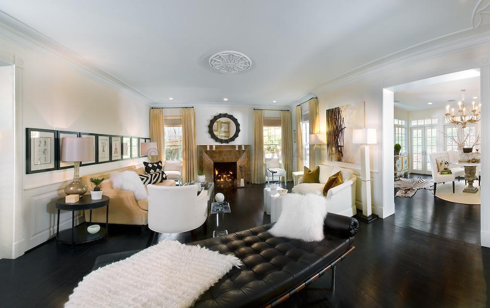 fireplace. 5165 Rockwood Parkway, NW Washington, DC Michele Seiver interior designer Home Living Room