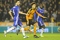 Football - 2016 / 2017 FA Cup - Fifth Round: Wolverhampton Wanderers vs. Chelsea<br /> <br /> Donovan Wilson of Wolves comes on to make his debut at Molineux.<br /> <br /> COLORSPORT/ANDREW COWIE