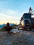 Western road trip in Jackson, WY. ©Brett Wilhelm