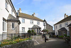 St Michael Housing Society cottages, Penzance, Cornwall.  The houses were built in 1932. UK