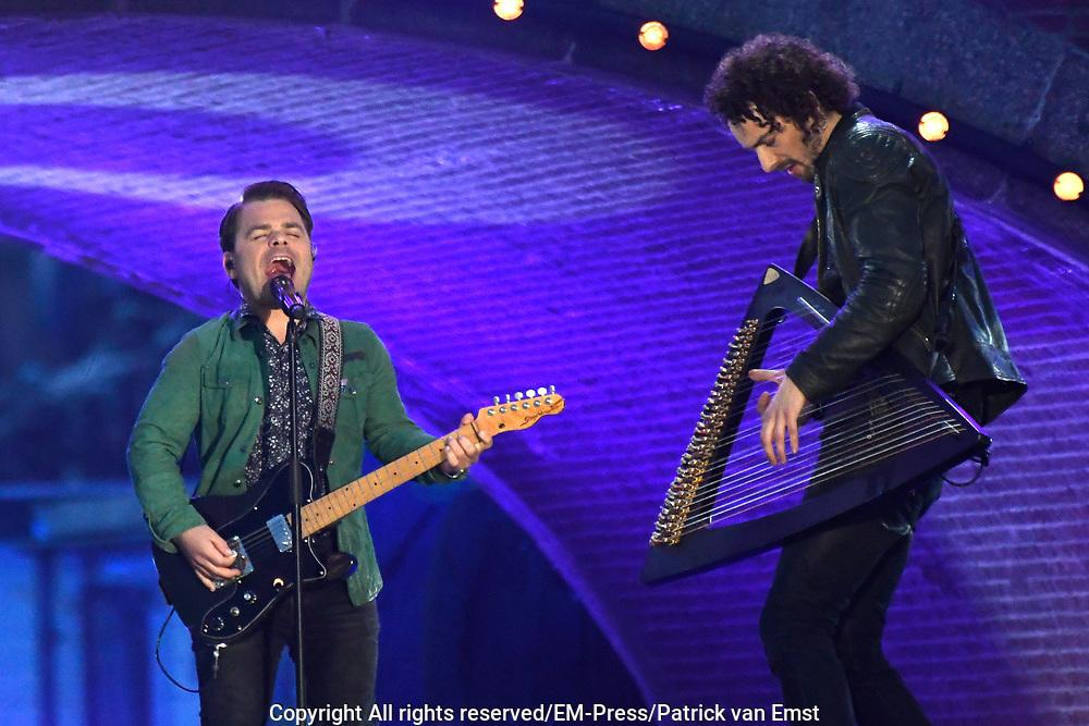 5 mei-concert op de Amstel / May 5 liberatrion concert at the Amstel<br /> <br /> Op de foto / On the photo:   Roel van Velzen