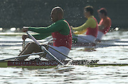 Peter Spurrier Sports  Photo.email pictures@rowingpics.com.Tel 44 (0) 7973 819 551..Photo Peter Spurrier.29/03/2002.2002 Thames World Sculling Challenge.Vaclav Chulupa CZE M1X [Mandatory Credit Peter Spurrier; Intersport Images]