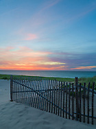 Sunset at the Old Harbor Life Saving Station in Provincetown, Cape Cod