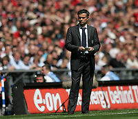 Photo: Lee Earle.<br /> Chelsea v Manchester United. The FA Cup Final. 19/05/2007.Chelsea manager Jose Mourinho.