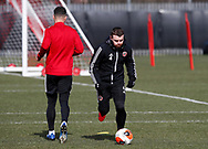 John Fleck of Sheffield Utd  during a training session at the Steelphalt Academy, Sheffield. Picture date: 5th March 2020. Picture credit should read: Simon Bellis/Sportimage