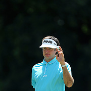Bubba Watson, USA, in action during the final round of the Travelers Championship at the TPC River Highlands, Cromwell, Connecticut, USA. 22nd June 2014. Photo Tim Clayton