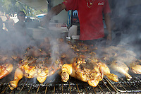 Marché St. Paul-La Réunion-grilled chicken