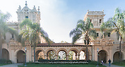 Spanish Colonial Architecture at Balboa Park San Diego