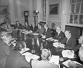 1977 - New Fianna Fail Cabinet Meets.   (L26).