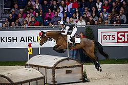 Gerber Caroline, SUI, Tresor de Chignan CH<br /> CHI Genève 2018<br /> © Hippo Foto - Dirk Caremans<br /> 08/12/2018