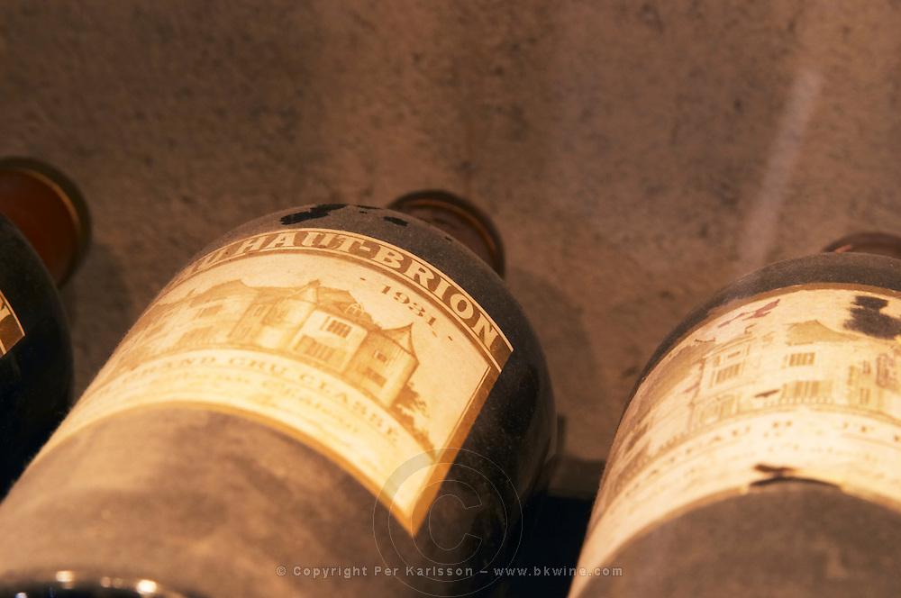 Chateau Haut Brion 1931 from Graves, Bordeaux in a collection of all vintages of Bordeaux first growth clarets.  Ulriksdal Ulriksdals Wärdshus Värdshus Wardshus Vardshus Restaurant, Stockholm, Sweden, Sverige, Europe