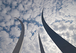 Washington DC; USA: The Air Force Memorial in Arlington, Virginia.Photo copyright Lee Foster Photo # 33-washdc83250
