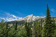 Hiking in Grand Teton National Park.