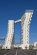 Bella Sky Hotel, Copenhagen, Denmark. Built 2011. Architect: 3XN. Bult: 2011