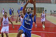Porec 09 Agosto 2012 - Amichevole Croazia Italia<br /> Nella Foto : PIETRO ARADORI<br /> Foto Ciamillo