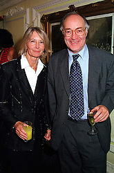 The RT.HON.MICHAEL HOWARD MP and MRS HOWARD at a party in London on 21st September 2000.OHE 15