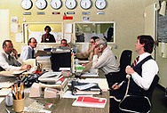 The Iran Situation Roomn at the State Department on October 30 1980<br />Photo by Dennis Brack. bb77