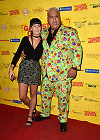 Bryony Ann Harris  and Colin Newell (Heavy D) at the Gangsters, Gamblers and Geezers - UK film premiere at  Prince Charles Cinema, London