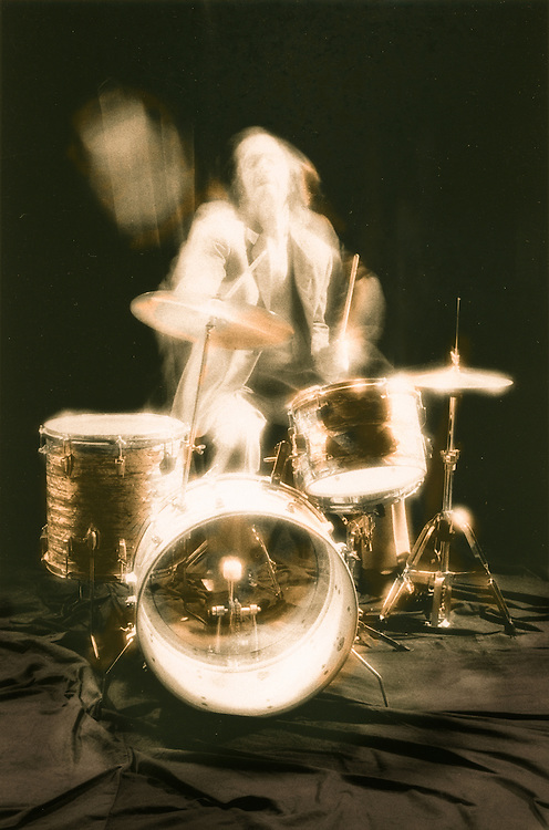 motion study, musician, drummer, The Human beings