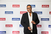 Elisa Durrette of CloudFlare, Inc. poses for a photo during the Bay Area Corporate Counsel Awards at The Westin San Francisco Airport in Millbrae, California, on March 18, 2019. (Stan Olszewski for Silicon Valley Business Journal)