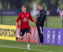 CARDIFF, WALES - Monday, October 5, 2020: Wales' David Brooks during a training session at the Vale Resort ahead of the International Friendly match against England. (Pic by David Rawcliffe/Propaganda)