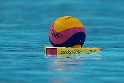 Olympics - London 2012 Olympic Games - 3/8/12.Water Polo, Illustration, Ball.©Êpixathlon *** Local Caption ***