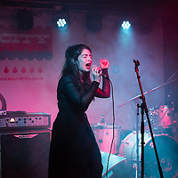 Bernard and Edith at Factory as part of Sound City in Liverpool, 3rd May, 2014.