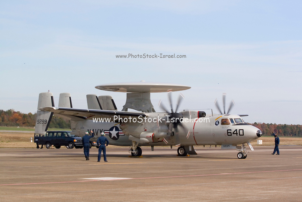 Arkansas, AR, USA, Airpower Arkansas 2006 was held at the Little Rock Air Force base November 2006 participation of the Air Force, Navy, National Guard and civilian aerobatics aviators, Northrop Grumman E-2C Hawkeye carrier-based warning and control. On the ground with folded wings