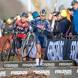 12-01-2020: Wielrennen: NK Veldrijden: Rucphen<br />Ceylin Alvarado, Annemarie Worst