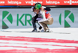Peter Prevc (SLO) kissed by Papster fan during the Ski Flying Hill Men's Team Competition at Day 3 of FIS Ski Jumping World Cup Final 2017, on March 25, 2017 in Planica, Slovenia. Photo by Vid Ponikvar / Sportida