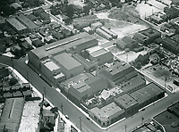 1931 Aerial view of Tiffany Stahl Studios