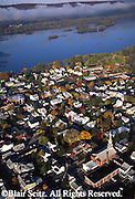 PA Landscape, Southcentral Pennsylvania Aerial Photographs Millersburg, Susquehanna River