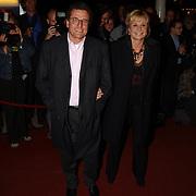 Opening Utrechts Filmfestival 2003, premiere Phileine zegt sorry, Edwin de Vries en Monique van der Ven