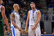 DESCRIZIONE : Eurolega Euroleague 2015/16 Group D Unicaja Malaga - Dinamo Banco di Sardegna Sassari<br /> GIOCATORE : David Logan Matteo Formenti<br /> CATEGORIA : Ritratto Fair Play<br /> SQUADRA : Dinamo Banco di Sardegna Sassari<br /> EVENTO : Eurolega Euroleague 2015/2016<br /> GARA : Unicaja Malaga - Dinamo Banco di Sardegna Sassari<br /> DATA : 06/11/2015<br /> SPORT : Pallacanestro <br /> AUTORE : Agenzia Ciamillo-Castoria/L.Canu