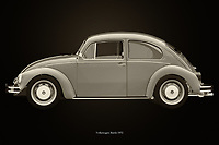 The 1972 Volkswagen Beetle Sedan has been sold all over the world. Ferdinand Porsche did not expect this when he designed his first Volkswagen. This 1972 Volkswagen Beetle Sedan is of course also featured in films, of which the Dolle Beetle is the most famous.<br /> The 1972 Volkswagen Beetle Sedan was for many their first car. Pure nostalgia.<br /> <br /> This painting of a 1972 Volkswagen Beetle Sedan can be printed very large on different materials. –<br /> <br /> BUY THIS PRINT AT<br /> <br /> FINE ART AMERICA<br /> ENGLISH<br /> https://janke.pixels.com/featured/volkswagen-beetle-black-and-white-jan-keteleer.html<br /> <br /> WADM / OH MY PRINTS<br /> DUTCH / FRENCH / GERMAN<br /> https://www.werkaandemuur.nl/nl/shopwerk/Volkswagen-Kever-Zwart-en-Wit/743802/132?mediumId=11&size=75x50<br /> <br /> -