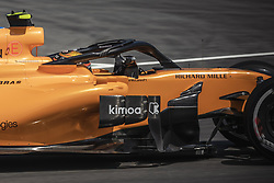 May 11, 2018 - Barcelona, Catalonia, Spain - STOFFEL VANDOORNE (BEL) drives during the first practice session of the Spanish GP at Circuit de Catalunya in his McLaren MCL33 (Credit Image: © Matthias Oesterle via ZUMA Wire)
