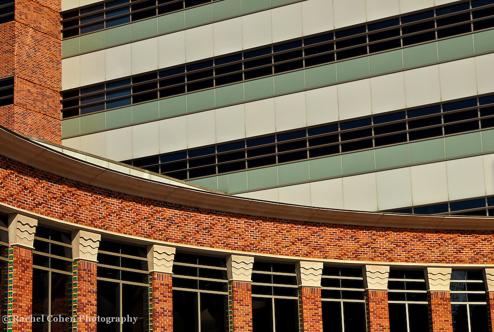 """""""Of Lines and Curves""""<br /> <br /> Architectural details in the lines, curves and columns on a building at the University of Michigan!!<br /> <br /> Architecture: Structures and buildings by Rachel Cohen"""